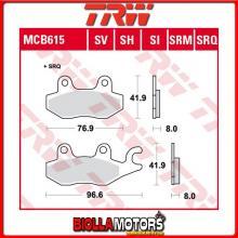 MCB615SRM PASTIGLIE FRENO ANTERIORE TRW Wuyang WY 125 125-24B 2006- [SINTERIZZATA- SRM]