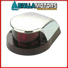 2111514 FANALE BOW RED/GREEN LED CHROME< Fanali di Prua LED (CE) Bow Chrome