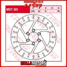 MST365 DISCO FRENO POSTERIORE TRW Suzuki VS 1400 Intruder 1987-2003 [RIGIDO - ]