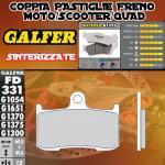 FD331G1375 PASTIGLIE FRENO GALFER SINTERIZZATE ANTERIORI VICTORY CORY NESS CROOS COUNTRY 11-