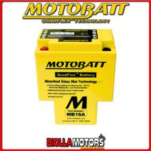 MB16A BATTERIA MOTOBATT HYB16-AA AGM 813169 HYB16AA MOTO SCOOTER QUAD CROSS