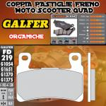FD219G1054 PASTIGLIE FRENO GALFER ORGANICHE ANTERIORI HONDA CB 1300 SUPER BOL D'OR / ABS 05-