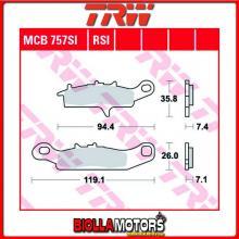 MCB757SI PASTIGLIE FRENO ANTERIORE TRW Kawasaki KFX 450 2007- [ORGANICA- ]
