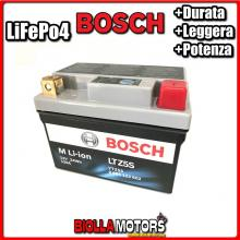 LTZ5S BATTERIA LITIO BOSCH YTZ5S-BS LifePo4 0986122602 YTZ5SBS MOTO SCOOTER QUAD CROSS