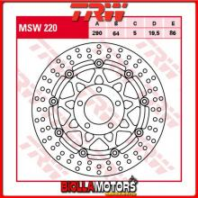 MSW220 DISCO FRENO ANTERIORE TRW Suzuki GSX 600 F 1998-2002 [FLOTTANTE - ]