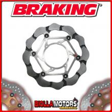 BY102L DISCO FRENO ANTERIORE SX BRAKING BMW G 650 GS 650cc 2009-2016 WAVE FLOTTANTE
