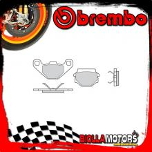 07BB0708 PASTIGLIE FRENO POSTERIORE BREMBO TM CROSS 2000- 400CC [08 - ROAD CARBON CERAMIC]
