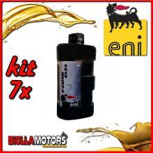 KIT 7X LITRO OLIO ENI FORK OIL 7.5W FORCELLA - 7x E142691