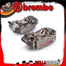 220A01610 PINZE FRENO RADIALI BREMBO P4 Ø30/34 TRIUMPH Speed Triple 1050 2007- Ø320 [ANTERIORE]