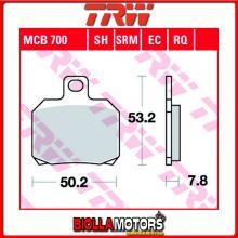 MCB700SRM PASTIGLIE FRENO ANTERIORE TRW Piaggio X9 250 2000-2004 [ORGANICA- ]