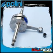 210.0019 ALBERO MOTORE POLINI EVO 2 MOTRON STING BIELLA 80 - SP.12 Per variatore con spinotto da d.16mm