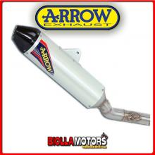 75049TAK TERMINALE ARROW OFF-ROAD V2 HUSQVARNA TC 250 2008 ALLUMINIO/CARBONIO