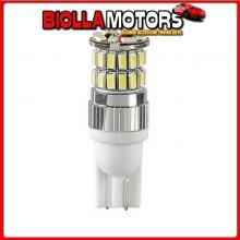 98270 LAMPA 24-30V MEGA-LED 36 - 36 SMD X 1 CHIP - (T10) - W2,1X9,5D - 2 PZ - D/BLISTER - BIANCO - DOPPIA POLARIT?