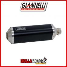 73804B6+71210IN TERMINALE GIANNELLI IPERSPORT BMW C 650 GT 2012-2015 DARK/INOX + COLLETTORE RACING