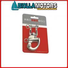 0222713C MOSCHETTONE MTM CARD Moschettone Spi con Grillo Girevole MTM