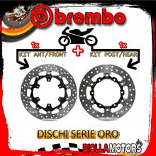 BRDISC-4069 KIT DISCHI FRENO BREMBO KTM SMC R 2014- 690CC [ANTERIORE+POSTERIORE] [FLOTTANTE/FLOTTANTE]