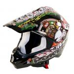 77446905 CASCO CROSS NERO XS MOD. POKER INTERNO ESTRAIBILE LAVABILE 1,4 KG