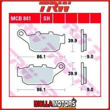 MCB841 PASTIGLIE FRENO POSTERIORE TRW Kawasaki KLE 650 Versys, Versys LT ABS 2015- [ORGANICA- ]