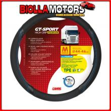98012 LAMPA GT-SPORT, COPRIVOLANTE IN TPE - M - ? 44/46 CM - NERO/BLU