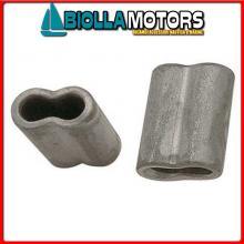 5424512 MANICOTTO D12 ALU Manicotti in Alluminio per Impiombare