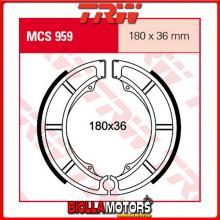 MCS959 GANASCE FRENO POSTERIORE TRW Sachs 800 Roadster V2 2000-2005 [ORGANICA- ]