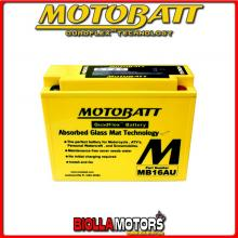 MB16AU BATTERIA MOTOBATT YB16AL-A2 AGM E06004 YB16ALA2 MOTO SCOOTER QUAD CROSS