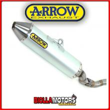 75049TA TERMINALE ARROW OFF-ROAD THUNDER HUSQVARNA TC 250 2008 ALLUMINIO/INOX
