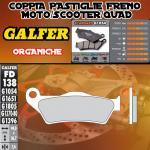 FD138G1054 PASTIGLIE FRENO GALFER ORGANICHE ANTERIORI GILERA NEXUS i.e. SP 06-
