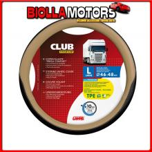98915 LAMPA CLUB, COPRIVOLANTE PRESA CONFORT IN TPE - L - ? 46/48 CM - BEIGE