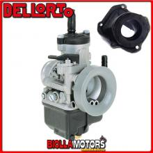 BR-53+03302 CARBURATORE DELLORTO PHBH 28 BS + COLLETTORE INCLINATO ROTAX 122