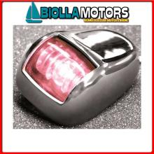 2111630 FANALE FLAT RINA RED INOX Fanali (R.I.Na.) LED Orionis A Inox
