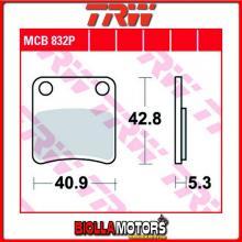 MCB832P PASTIGLIE FRENO ANTERIORE TRW Piaggio 125 MP3 RL/LT 2007-2009 [ORGANICA- ]