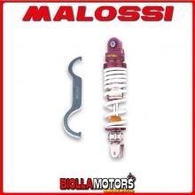 467588 AMMORTIZZATORE POSTERIORE MALOSSI RS24 ATALA HACKER 50 2T , INTERASSE 267 MM -