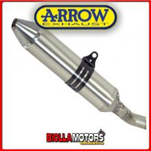 75049TT TERMINALE ARROW OFF-ROAD THUNDER HUSQVARNA TC 250 2008 TITANIO/INOX