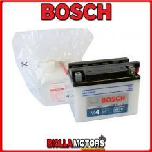 YB4L-B BATTERIA BOSCH 12V 4AH SUZUKI RG50 50 1991- 0092M4F170 YB4LB