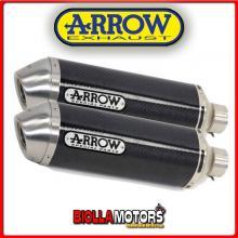 71638MO MARMITTE ARROW RACE-TECH DUCATI Monster 620 2002-2006 CARBONIO/INOX