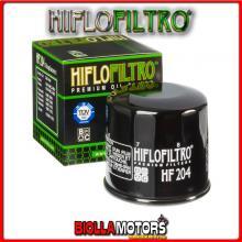 HF204 FILTRO OLIO HONDA VFR800 X-B,C,D,E,F,G Crossrunner 2011-2016 800CC HIFLO