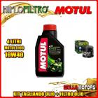 KIT TAGLIANDO 4LT OLIO MOTUL 5100 10W40 DUCATI 620 Monster i.e. 620CC 2003-2006 + FILTRO OLIO HF153